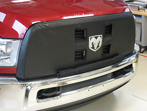 Winter Mask for Ram Truck